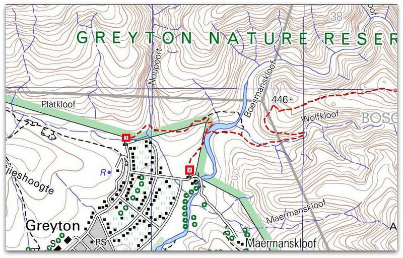 boesmanskloof hiking trail maps-005